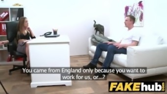 Ladies Provider English man cheats and pounds attractive agents tense pussy
