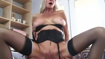 Slutty Step mother Emma Starr Gives Best Blowjob her action youngster and can help himcum