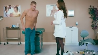 Ariella Ferrera is a very large breasted health professional who might treasures riding a cock