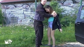 Teenager Love Learned And Fucked Outside And Community Novice