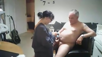 Swedish home made online video media associated with a grow older mum fucking mister