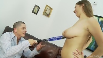 Beautiful Alex Possibility finally gets to get a delicious cock