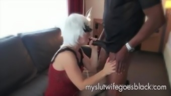 white companion Alexia Thomas first consult great dark colored penis to effectively feed
