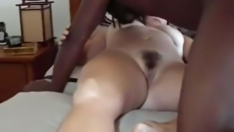 Mordant bloke fucks my cuckold companion missionary and breeds her