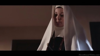 Sinful nun Serene Siren is actually ready to work on soaking pussy